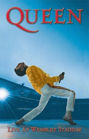 Queen: Textile Poster - Wembley