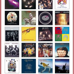Queen: Poster - Covers