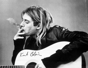 Kurt Cobain: Poster - Smoking