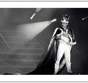 Queen: Print - Freddie with Crown
