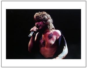 Ozzy Osbourne: Print - Ozzy on Stage