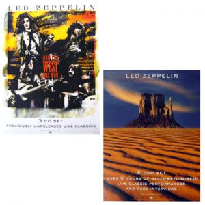 Led Zeppelin: Original Memorabilia - How The West Was Won Promo Poster