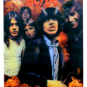 AC/DC : Lenticular 3D Poster - Highway To Hell