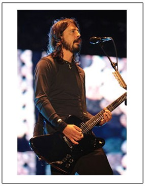 Foo Fighters: Print - Dave Grohl