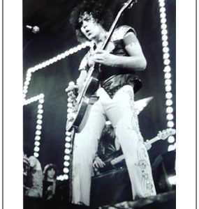 T.Rex: Print - Marc Bolan on Stage