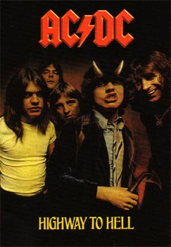 AC/DC: Poster - Highway To Hell