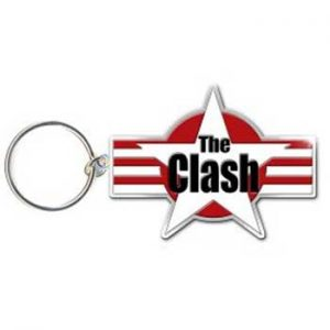 Clash, The: Keyring - Star Logo