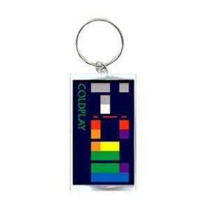 Coldplay: Keyring - X&Y Album Metal Keyring