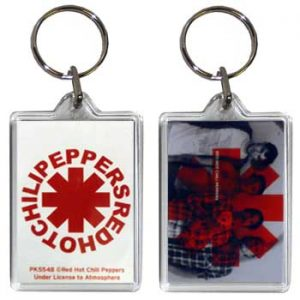 Red Hot Chili Peppers: Keyring - Group