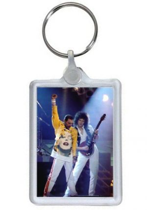 Queen: Keyring - Freddie and Brian Plastic Keyring