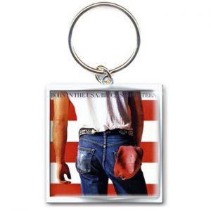 Bruce Springsteen: Standard Keyring - Born in the USA