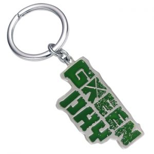 Green Day: Keyring - Green Logo
