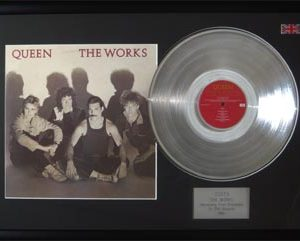 Queen: Framed Discs - Silver Album - The Works