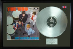 Who, The: Framed Discs - Silver Album - My Generation