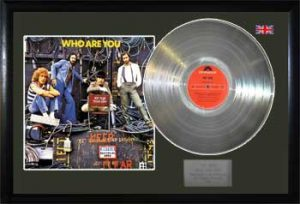 Who, The: Framed Discs - Silver Album - Who Are You