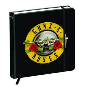 Guns N' Roses: Notebook - Bullet Logo