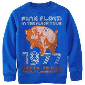 Pink Floyd: Sweatshirt - In the Flesh NYC 77