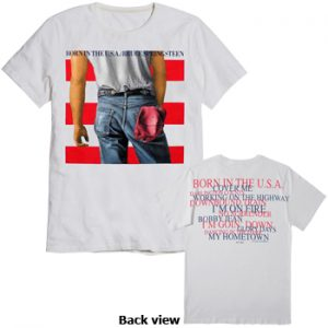 Bruce Springsteen: T-shirts (Mens) - Born In The USA