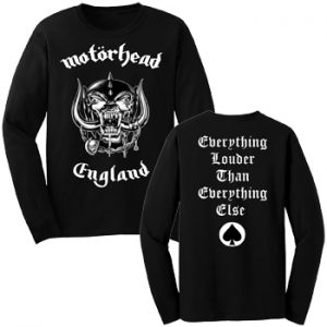 Motorhead: Long Sleeve T-shirt (mens) - Everything Louder than Everything Else