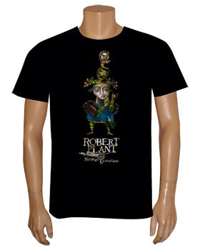 Robert Plant: T-shirts (Mens) - Robert Plant and the Strange Sensation