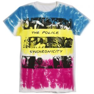 Police, The: T-shirts (Mens) - Synchronicity
