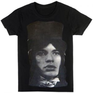 Rolling Stones, The: Designer T-shirts (Mens) - Mick Jagger