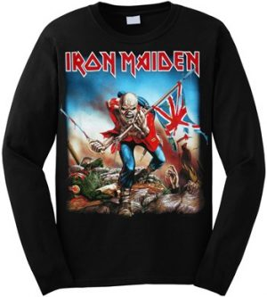 Iron Maiden: T-shirts (Mens) - Trooper Long Sleeve