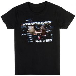 Paul Weller: T-shirts (Mens) - Wake Up The Nation