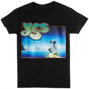 Yes: T-shirts (Mens) - Yes Songs