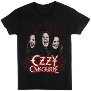 Ozzy Osbourne: T-shirts (Mens) - Crows & Bars