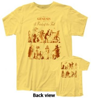 Genesis: T-shirts (Mens) - A Trick Of The Tail