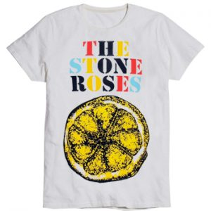 Stone Roses, The: T-shirts (Mens) - Logo Lemon Multicolour