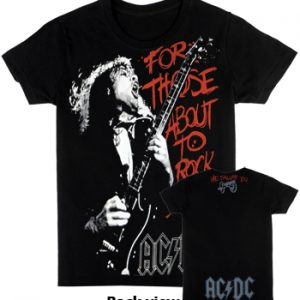 AC/DC: T-shirts (Mens) - For Those About to Rock