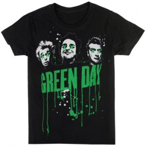 Green Day: T-shirts (Mens) - Drips
