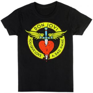 Bon Jovi: T-shirts (Mens) - Through The Heart