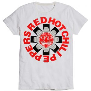 Red Hot Chili Peppers: T-shirts (Mens) - Aztec