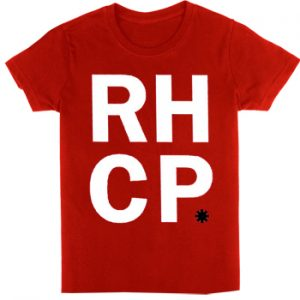Red Hot Chili Peppers: T-shirts (Mens) - Stack Red