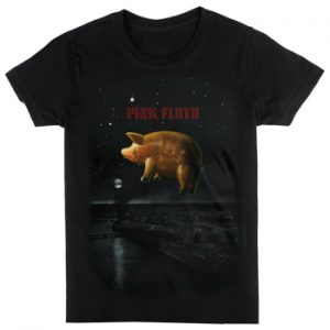 Pink Floyd: T-shirts (Mens) - Pigs Over London