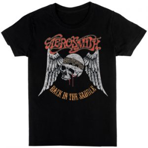 Aerosmith: T-shirts (Mens) - Back In The Saddle