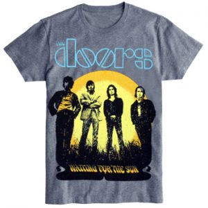 Doors, The: T-shirts (Mens) - Waiting For The Sun