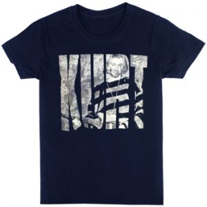 Kurt Cobain: T-shirts (Mens) - Photo Logo
