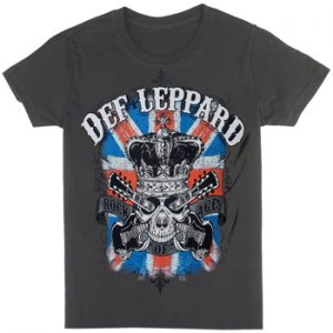 Def Leppard: T-shirts (Mens) - Rock Of Ages