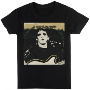 Lou Reed: T-shirts (Mens) - Transformer Vintage Cover