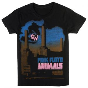 Pink Floyd: T-shirts (Mens) - Pig Stain