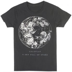 Coldplay: T-shirts (Mens) - Sky Full Of Stars