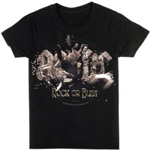 AC/DC: T-shirts (Mens) - Rock Or Bust Explosion