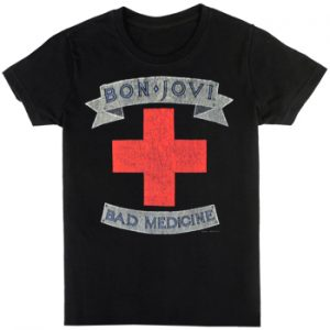 Bon Jovi: T-shirts (Mens) - Bad Medicine