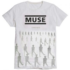 Muse: T-shirts (Mens) - Toned Drones