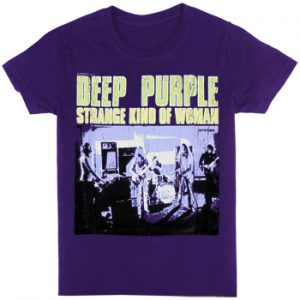 Deep Purple: T-shirts (Mens) - Strange Kind Of Woman