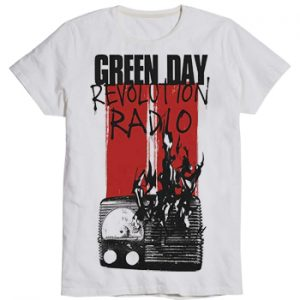 Green Day: T-shirts (Mens) - Radio Combustion